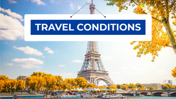 New rules for flights to France