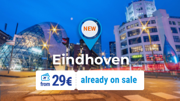 Discover Belgium, the Netherlands and Germany with one flight! Tickets from 29 EURO!